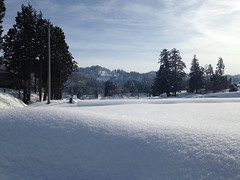precioso paisaje de invierno