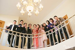 """喜感的新郎和大气的新娘~偷戒指的路飞和干瞪眼的香吉士~乱入的顺风小哥促成了新郎闯门大喊:""""我是送快... (WAYNEVISION) Tags: 上海 d3 尼康 d800 3514 婚礼 摄影 2470 纪实 5012"""