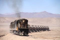 Rugiendo al 8! (Guillermo Andre) Tags: chile de trains cooper atacama desierto almagro codelco rednorte trenesdechile ferronor gr12u railwaysofchile