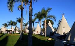 Wigwams (samwibatt) Tags: california motel rialto wigwam