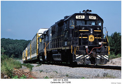 SBD 547 & 2656 (Robert W. Thomson) Tags: railroad train georgia diesel railway trains locomotive trainengine scl geep sbd seaboardcoastline cartersville emd gp382 seaboard gp38 seaboardsystem fouraxle