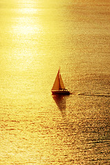 (Mimadeo) Tags: ocean travel light sunset shadow sea summer vacation sky orange sun sunlight seascape reflection nature water sunshine silhouette yellow sailboat sunrise relax landscape evening boat colorful ship peace yacht dusk lifestyle vessel calm shade sail romantic