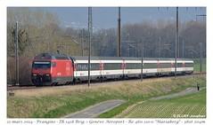 Re460 InterRégio - Prangins (CC72080) Tags: train sbb locomotive cff re460 prangins interrégio