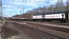 Henkel Beauty Care Boxcars,Railcars Wagons at Cologne Gremberg (pipoclown269) Tags: beauty care boxcars henkel wagons gesloten