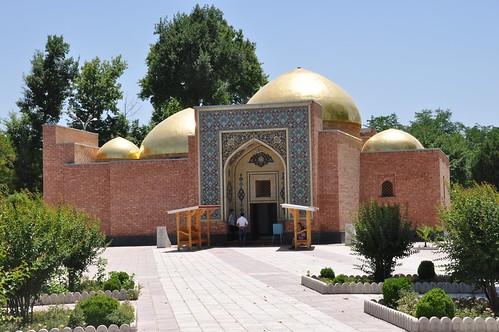 Mausoleum of Shah Hamdan in Kulob (2)