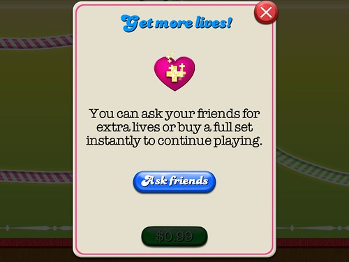Candy Crush Saga Energy: screenshots, UI