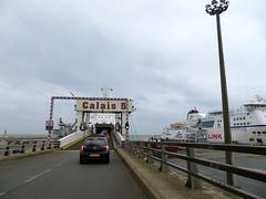 We rijden de ferry op!