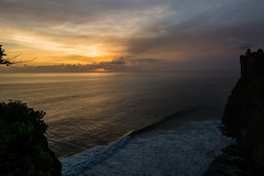 sundowner (Karl-Heinz Bitter) Tags: ocean bali indonesia landscape waves landschaft tempel sundowner sundoner indoneshien