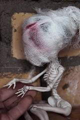Monster High Skelita (Eziili) Tags: monster skeleton high hands day sad may 9 victory memory skelita