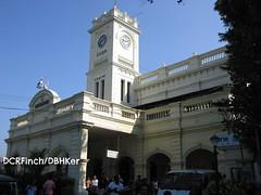 Maradana Junction Station - Colombo - 1909 (DBHKer) Tags: building tower heritage architecture colonial railway historic clocktower campanile railwaystation srilanka ceylon guide colombo