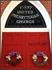 Sanctuary (e r j k . a m e r j k a) Tags: church washington doors pennsylvania houston sanctuary presbyterian doorways i79pa pa519 erjkprunczyk