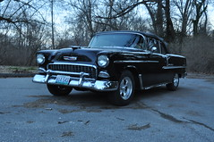 "1955 Chevy Bel-Air • <a style=""font-size:0.8em;"" href=""http://www.flickr.com/photos/85572005@N00/14196831741/"" target=""_blank"">View on Flickr</a>"