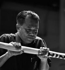 The Ref (gheckels) Tags: portrait man face sport thailand referee action bangkok portraiture judge boxing muaythai umpire ref lumphineeboxingstadium