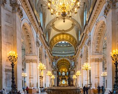 St Paul's Cathedral, London, UK (JackPeasePhotography) Tags: london glass st nikon cathedral stpauls pauls nave dome wren baroque vaulting sirchristopherwren