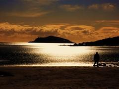 Captured (Tobymeg) Tags: sea sky southwest beach clouds golden scotland sand captured solway dumfries galloway hestan