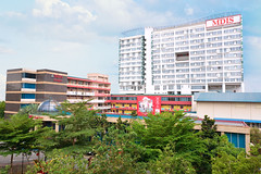 bird's eye view of MDIS campus