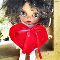 #valentine #MimeDollz #blythe #blythedoll #SqueakyMonkey #love (bauer blue) Tags: love valentine blythe blythedoll squeakymonkey mimedollz