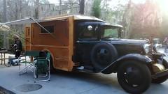 Vintage Ford Model AA custom camper (Dave* Seven One) Tags: wood old classic metal vintage 1930s conversion disney disneyworld caravan custom camper aa 1930 fomoco fortwilderness modelaa fordmodelaa