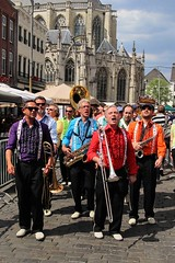 May Day Jazzband 7458-4_1491 (Co Broerse) Tags: music jazz streetparade breda grotemarkt 2016 bredajazzfestival composedmusic cobroerse maydayjazzband