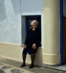 Old lady from Skopelos / Starica sa Skopelosa (mardukkk) Tags: sea outdoors island greek nikon greece more nikond3200 egean d3200 grka nikoneurope nikonsrbija nikonserbia grki