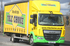 DAF LF Tile Choice BU15 ZZJ (SR Photos Torksey) Tags: road truck tile transport lorry commercial vehicle lf choice freight logistics daf haulage hgv lgv
