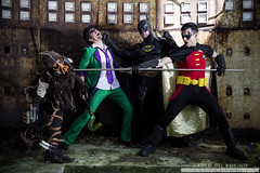 Gotham City Underground (Paolo Del Rocino) Tags: robin comics dc cosplay scarecrow super hero batman cosplayer universe riddler