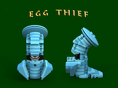 Egg Thief (bradders1999) Tags: game classic station digital vintage project fire one 1 video support play dragon lego dragonfly designer egg barrel games retro gaming fairy fantasy ps1 theif videogame hunter portal vote ideas playstation insomniac sparx spyro moc ldd purist rhynoc