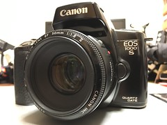 EOS 1000S with 50mm F1.8 II (Jet Daisuke) Tags: camera slr canon eos  eos1000s