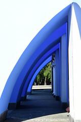 Arches (nikolas.hample) Tags: blue church architecture arch arches ukraine orthodox kiev kyiv shadesofblue