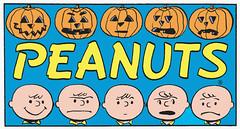 Jack O'Lantern modeling (Tom Simpson) Tags: halloween illustration vintage comics comic jackolantern cartoon peanuts 1950s charliebrown charlesschulz 1953 charlesmschulz