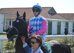 Yankee Mail (Gay Kelleway/Pat Cosgrave) (joshuapearson10) Tags: gay horse britain pat great racing jockey yarmouth cosgrave racehorse thoroughbred kelleway
