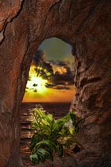A Spot in The Caribbean (J_J_R_P) Tags: sunset caribbean caribe