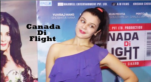 Punjabi Actress Aanushka Ramesh in Upcoming Bollywood Movies