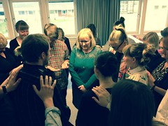 Fest för våra vänner som om bara några veckor går ut i Vägledningsåret! Även andakt och bön 🙏