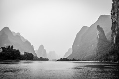 Iconic Landscape (ExceptEuropa) Tags: china travel trees sky mountain water canon river landscape asian photography liriver asia photographer guilin yangshuo chinese culture wideangle    canon60d