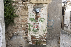 Albayzn, Granada (new folder) Tags: architecture graffiti spain medieval espana moorish granada andalusia albaicin albayzn