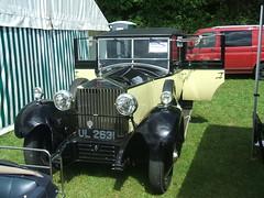 Rolls Royce. (Bennydorm) Tags: auto old england car vintage automobile antique roller vehicle british motor robinhood motorshow kitcar madeinengland kendal weddingcar crooklands