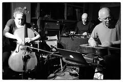 Peter Cusack/Rhodri Davies/Hannah Marshall/Evan Parker @ Cafe Oto, London, 19th June 2016 (fabiolug) Tags: leica blackandwhite bw music london monochrome 35mm blackwhite concert guitar live laptop gig livemusic performance rangefinder summicron improvisation cello improv monochrom harp biancoenero dalston quartet sopranosaxophone ipad sopranosax leica35mm leicam 35mmsummicronasph evanparker leicasummicron rhodridavies summicron35mmf2asph hannahmarshall 35mmf2summicronasph petercusack cafeoto summicronm35mmf2asph mmonochrom leicammonochrom leicamonochrom unpredictableseries alterationsfestival