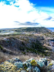 Signal Hill Trail in St. John's, NL. (StephenVivian) Tags: ocean trees signalhill cabottower stjohnsnl iphonography explorenl shotoniphone6s