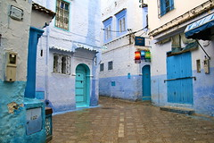 IMG_3696 (rachel_salay) Tags: city blue morocco chefchaouen