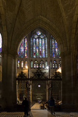 Interior Catedral de Len (Basilio Ayerza) Tags: espaa spain arquitectura cathedral gothic catedral len vidrieras gtica gtico