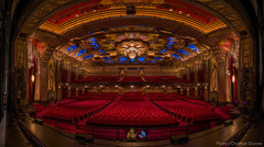 Hollywood Pantages, Los Angeles (Christian Dionne) Tags: california panorama usa building losangeles theater theatre adobe hollywood hdr lightroom pantages nodalninja