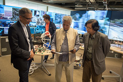 Muhammad Yunus Visit (78 of 92) (calit2) Tags: june demo san diego visit speaker commencement visualization muhammad ucsd yunus calit2 2016 ucsandiego muhammadyunus qualcomminstitute