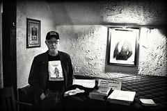 WILLIAM TROWBRIDGE ~ POET RX07042 (Cyclops Optic) Tags: bw poetry omaha poets imaginarygardens williamtrowbridge
