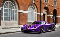 Zijin. (Alex Penfold) Tags: london cars alex car gold purple super r autos supercar koenigsegg supercars penfold zijin 2016 agera