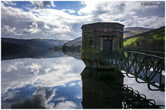 The Reflections on Talybont Reservoir (Sharon Dow Photography) Tags: uk bridge light mountain holiday reflection water beautiful southwales wales clouds rural trekking wow walking landscape outdoors countryside nikon scenery view britain hiking country ngc scenic naturallight breconbeacons hills valley attractive stunning fields blueskies welsh stillwater pontsticill cloudporn penyfan mountainrange 2016 talybont tafftrail bannaubrycheiniog talybontonusk talybontreservoir brinoretramroad parccenedlaetholbannaubrycheiniog nikond7100 sharondowphotography april2016 reflectionsontalybontreservoir