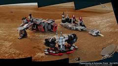 MARS Station (Joe Gan) Tags: mars station lego space combat base lair mocs redesign moc chima rebrick 70009 worriz