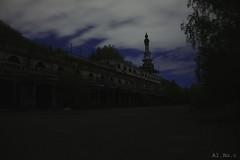 Ghost city night.. (Al. Bo.) Tags: city night dark stars star ghost fantasma notte citt buio stelle consonno ghostcity cittfantasma