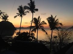 Philippines 2016 (marianddeboe) Tags: sunset philippines backpacker beachfront elnido palawan
