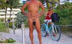 black baggie strap path (bmicro2000) Tags: man male beach public thong tiny gstring bungee baggie minimalswimwear microkini microbeachwear